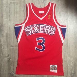 Retro Allen Iverson Philadelphia 76ers HWC Jersey